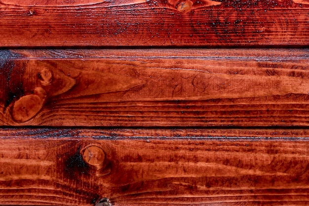 Red wood planks texture