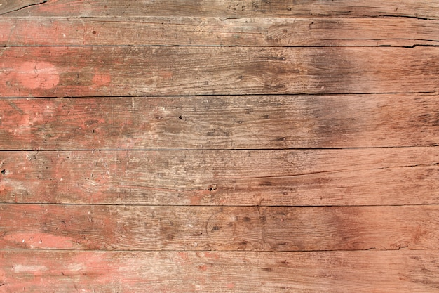Red wooden board
