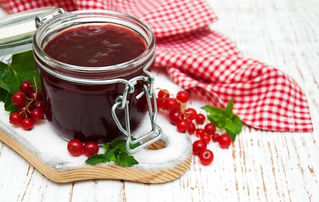 Redcurrants jam