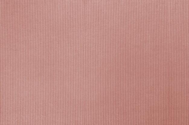 赤褐色のコーデュロイテキスタイルテクスチャ背景