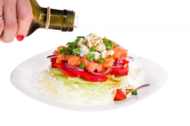 Refined salad