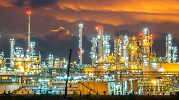 製油所のoliおよびガス工業プラント