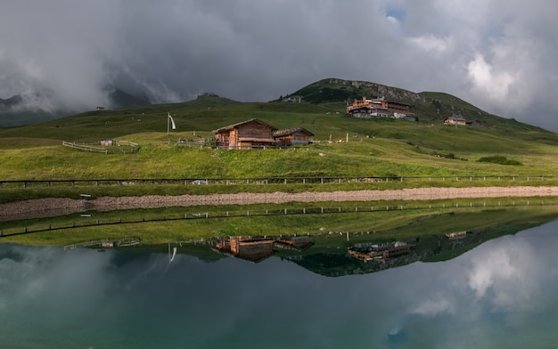 Reflection at seiser alm