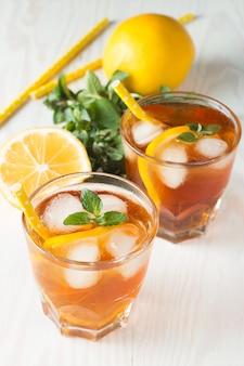 Refreshing citrus lemonade