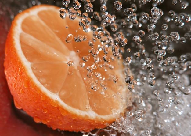 オレンジをリフレッシュする