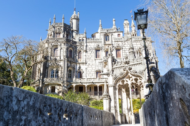 The regaleira palace in sintra