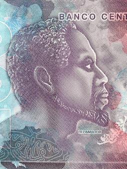 サントメ・プリンシペのお金からの肖像画レイ・アマドア