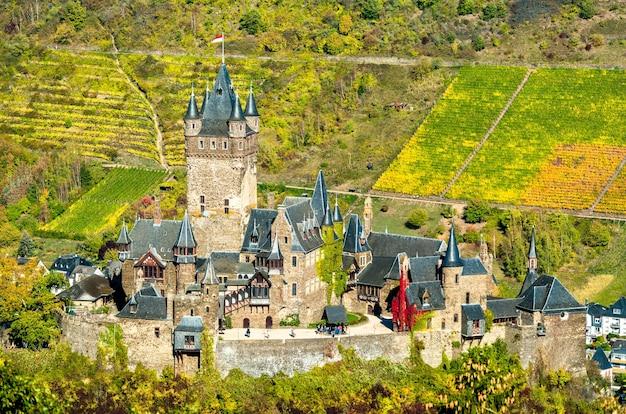 ドイツ、ラインラントプファルツ州の皇帝の城、ライヒスブルクコッヘム