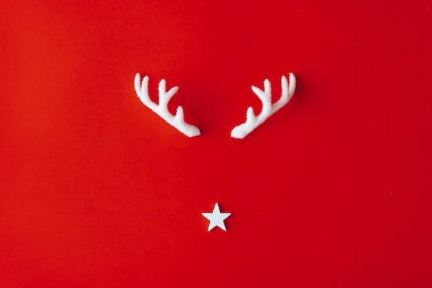 赤の星とトナカイの角