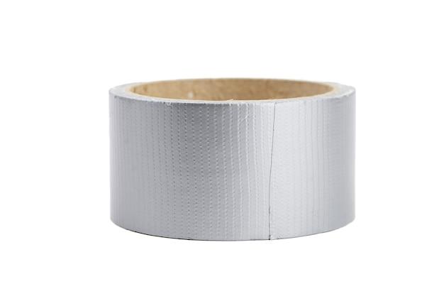 白い背景で隔離の強化粘着テープ