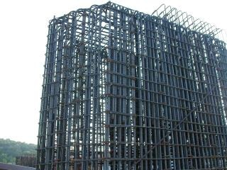 Reinforcing bars structure
