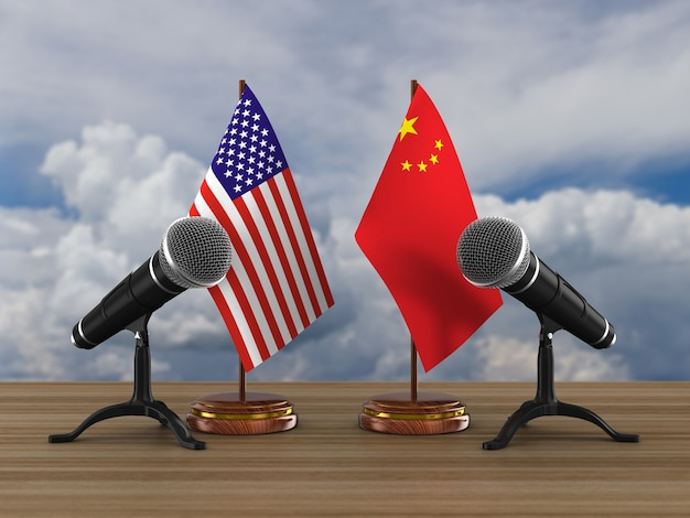 Отношения между америкой и китаем на белом