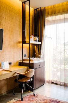 Relax corner in room