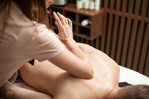 Relax man massage