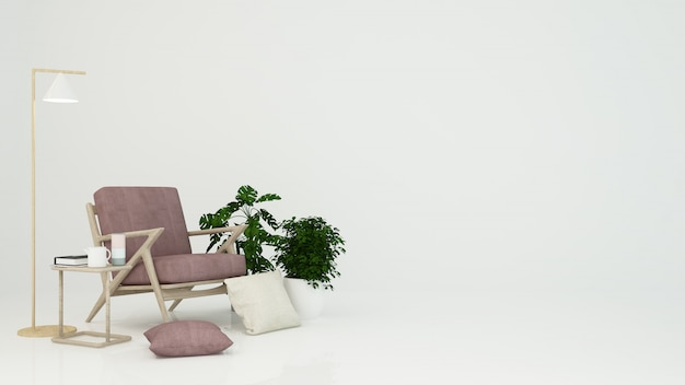Relax space white