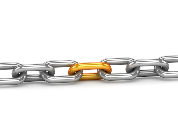 Reliability concept with one gold link
