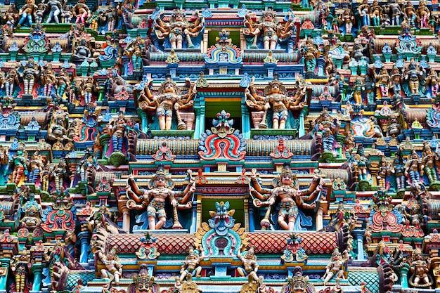 メナクシ寺院のレリーフ