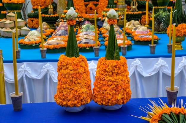 Религиозная церемония будды