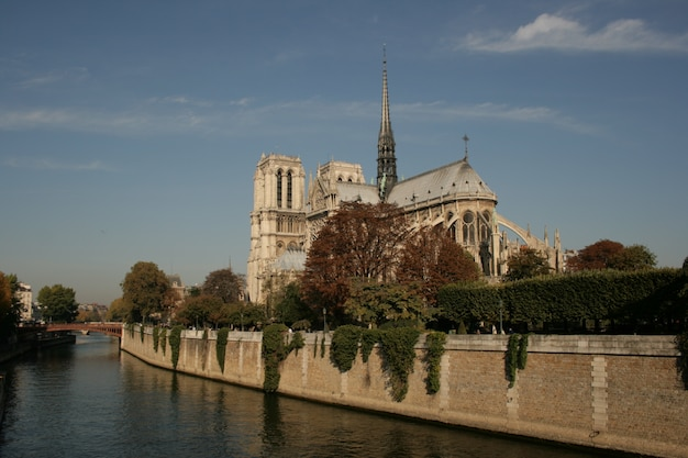 Religious gothic architecture place europe notre