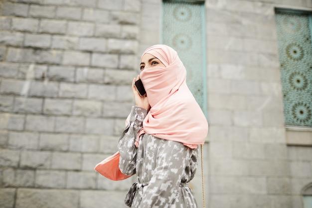 Religious woman in veil