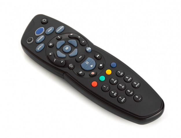 Remote control for digital satellite television