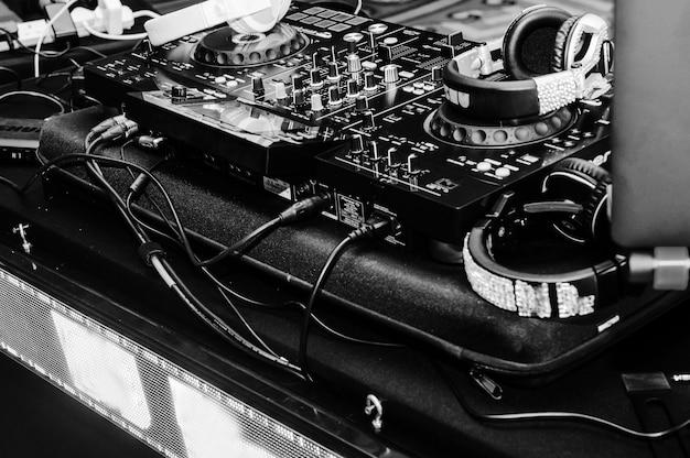 Remote control of the dj