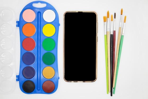 Урок удаленного рисования на мобильном телефоне с приложением