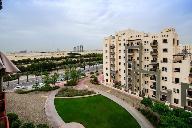 Remraam community view in dubai