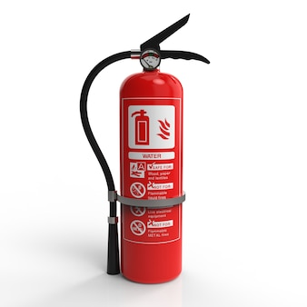 Rendering of an extinguisher