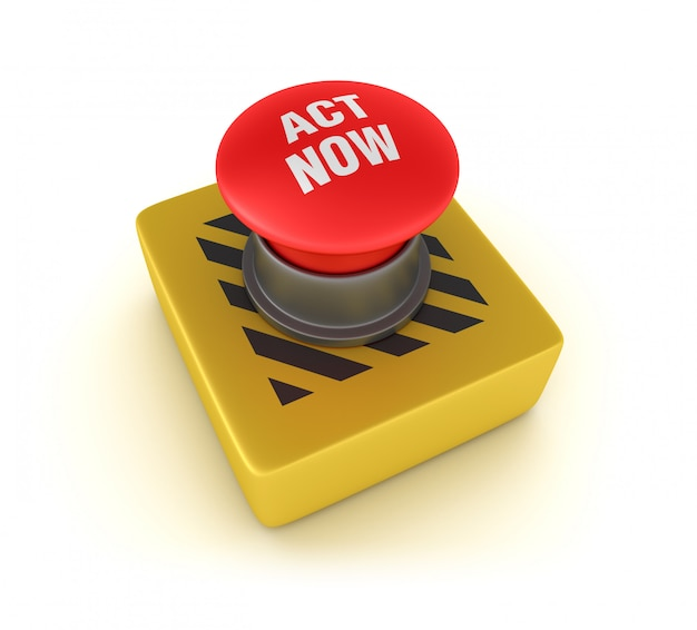 Rendering illustration of act now push button