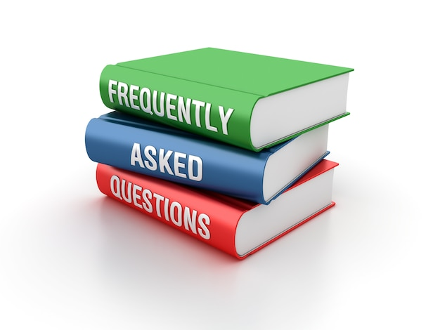 Rendering illustration of frequently asked questions