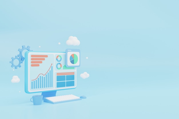 Rendering workplace business and finance analytics