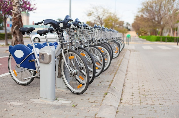 Rent a bike for the city