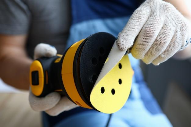 Repairman and professional tool