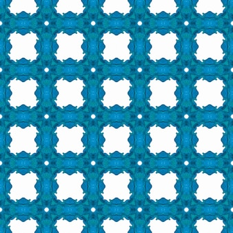 Repeating striped hand drawn border. blue brilliant boho chic summer design. striped hand drawn design. textile ready posh print, swimwear fabric, wallpaper, wrapping.