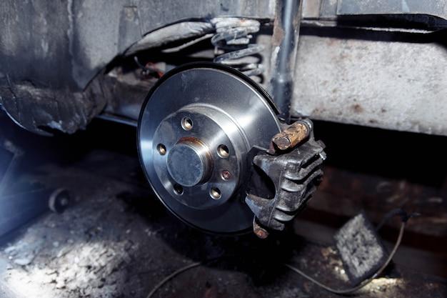 Замена тормозных дисков автомобиля ремонт тормозной системы