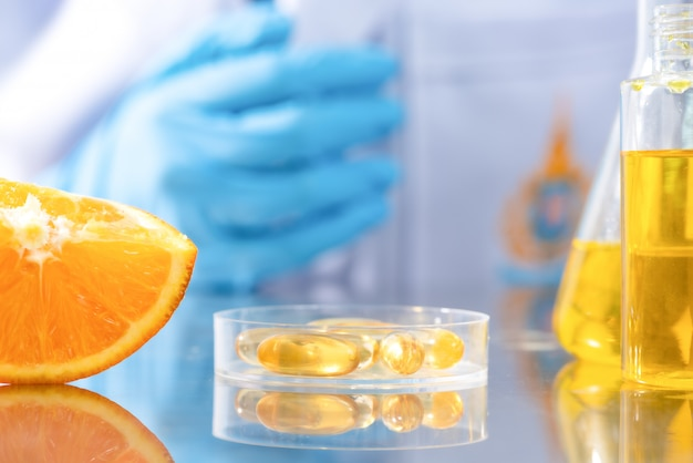Research on natural extracts in laboratories