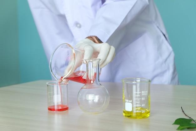 Ricerca in laboratorio