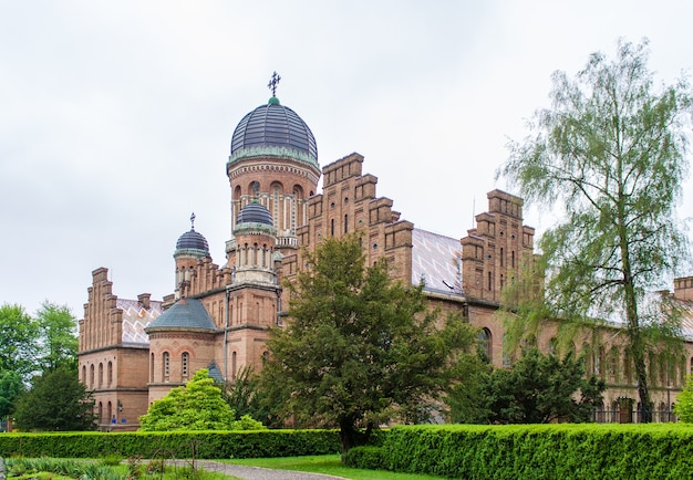 Residence of bukovinian and dalmatian metropolitans, listed in site. ukraine