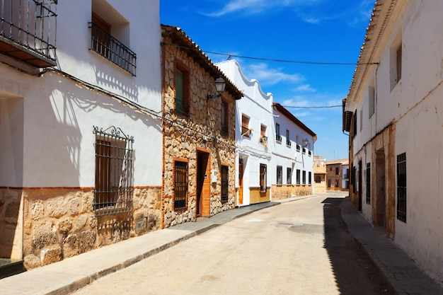Residence houses in el toboso Free Photo
