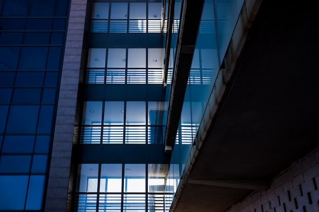 Residential apartments and flats, corporate image as a background