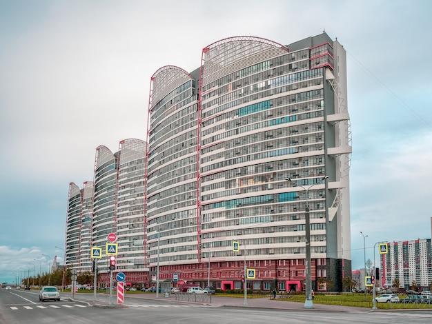 Жилой квартал на юго-западе санкт-петербурга