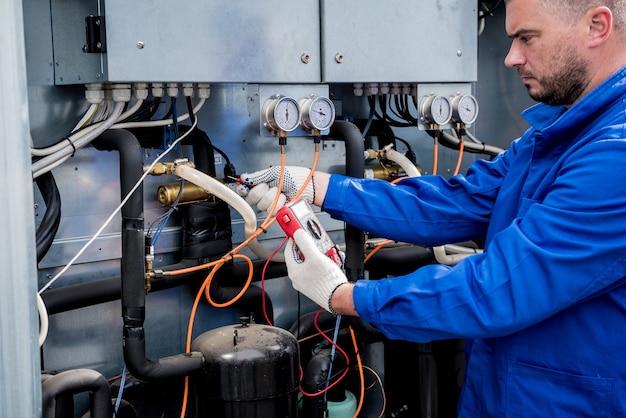 환기 장치 냉각 공급부 온도 센서 저항 테스트