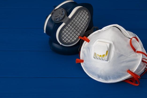 医療用保護フェイスマスク付きレスピレーターハーフマスク