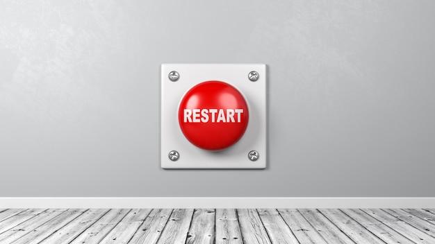 Кнопка перезапуска в комнате
