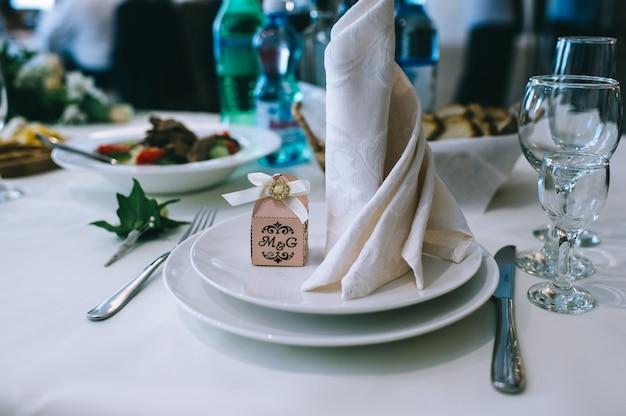 결혼식 전 식당