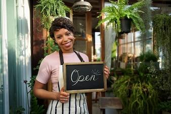 小売店ストアセールオープンビジネスコマース