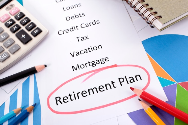 Retirement plan list