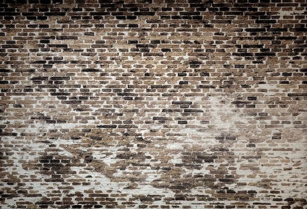 레트로 벽돌 벽 텍스처