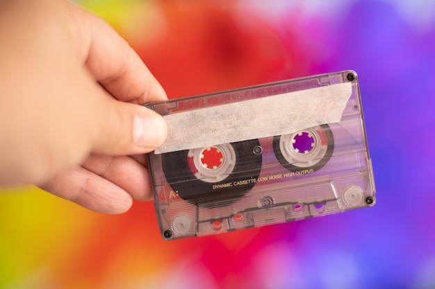 レトロカセットテープ